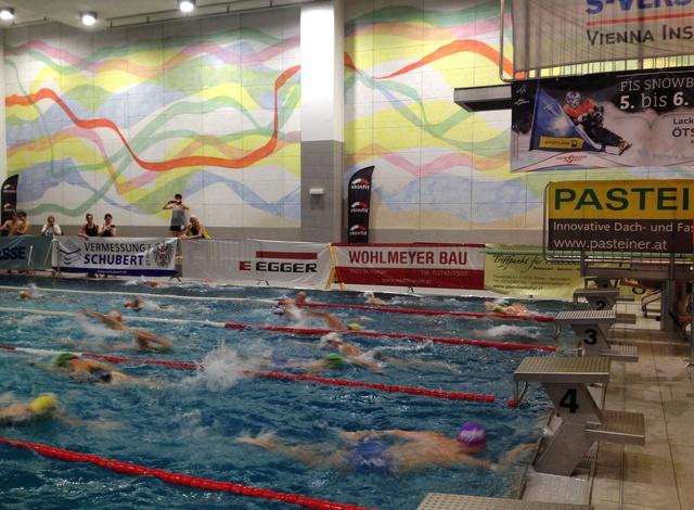 12-Stunden-Schwimmen der Wasserrettung